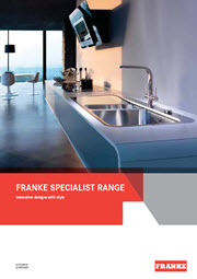 Franke Specialist Brochure - July 2013