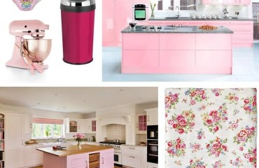 Pink Kitchen Acessories
