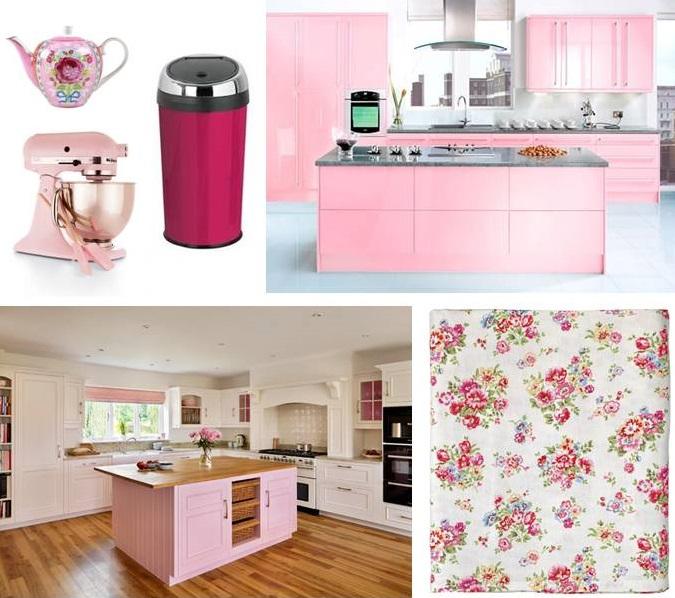Pink Kitchen Acessories