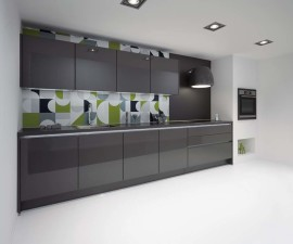 Lacquered Slate Grey High Gloss
