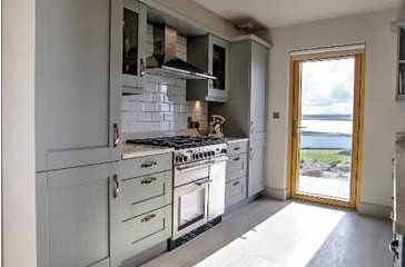 Manor House Grey Shaker Kitchen Farrow & Ball