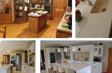 Bespoke Handcrafted Solid Oak Kitchen renovation