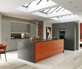 Modern Kitchen with vibrant twist
